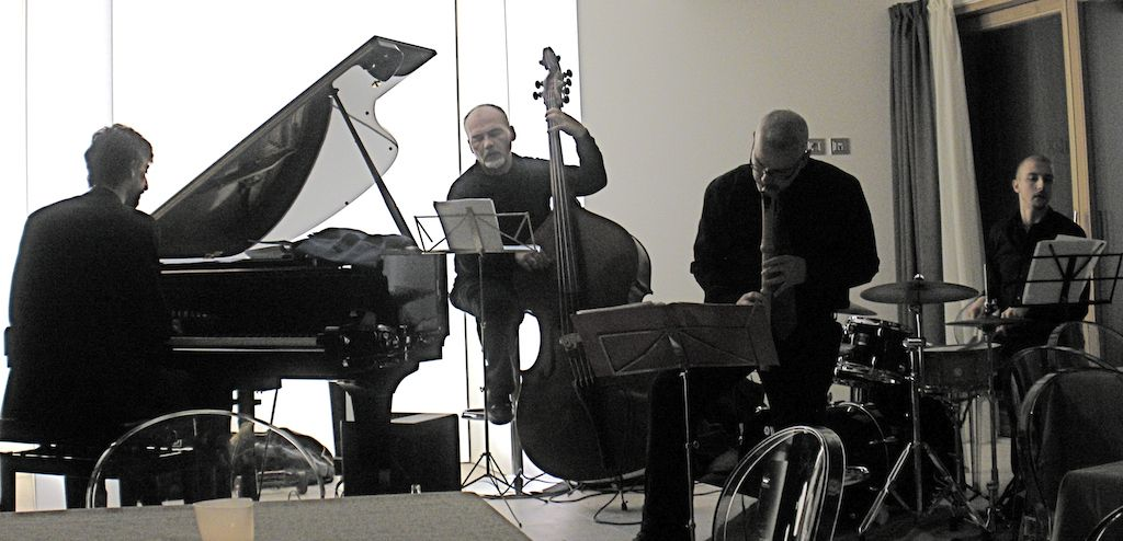 the dolce Jazztet 4et 2010 with my friends Lucio Terzano, Antonio Vivenzio and Stefano Lecchi