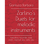 Zarlino's Duets for melodic instruments